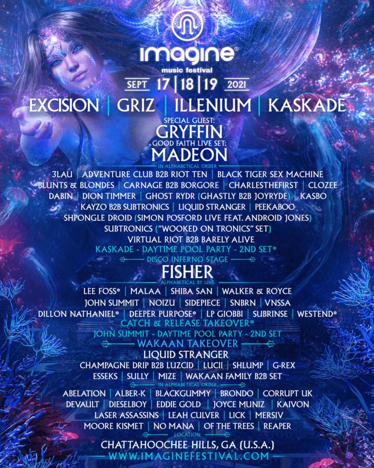 Imagine Music festival Survival guide